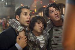 Skylar Astin, Justin Chon and Miles Teller in 21 & Over