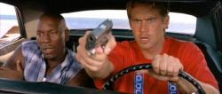Tyrese Gibson and Paul Walker in 2 Fast 2 Furious