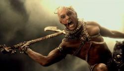 Rodrigo Santoro as Xerxes in 300: Rise of an Empire.