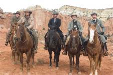 Alan Tudyk, Christian Bale, Russell Crowe, Peter Fonda and Dallas Roberts.