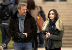 Kevin Costner and Hailee Steinfeld in 3 Days to Kill