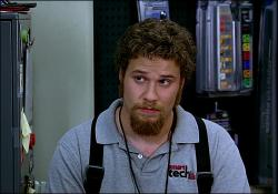 Seth Rogen in The 40 Year Old Virgin.