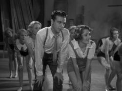 Dick Powell and Ruby Keeler in 42nd Street.