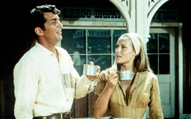 Dean Martin and Ursula Andress in 4 for Texas