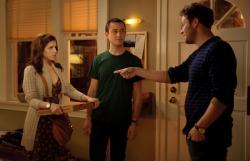 Anna Kendrick, Joseph Gordon-Levitt and Seth Rogen in 50/50.