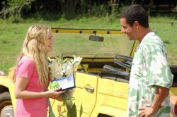 Drew Barrymore and Adam Sandler in 50 First Dates.