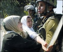 Israeli soldiers do not make policies, they just enforce them.