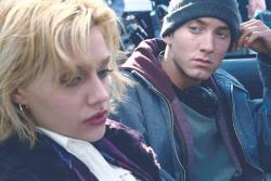 Brittany Murphy and Eminem in 8 Mile.
