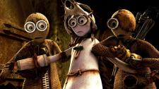 #9 (voiced by Elijah Wood), #7 (voiced by Jennifer Connelly), and #5 (voiced by John C. Reilly) in 9.