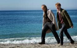 Bill Nighy and Domhnall Gleeson in About Time.