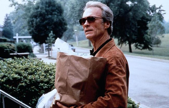 Clint Eastwood in Absolute Power.