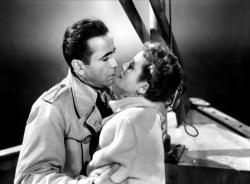 Humphrey Bogart and Mary Astor in Across the Pacific.