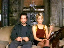Matthew Broderick and Meg Ryan in Addicted to Love.