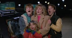 Suburban kids lost in the city in Adventures in Babysitting.