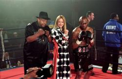 Charles Dutton, Meg Ryan and Omar Epps in Against the Ropes.