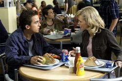 Frankie Muniz and Hannah Spearritt in Agent Cody Banks 2: Destination London.