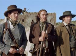 Patrick Wilson, Billy Bob Thornton and Jason Patric in The Alamo.
