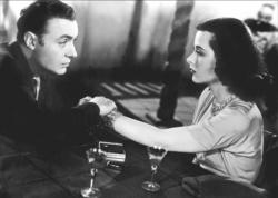 Charles Boyer and Hedy Lamarr in Algiers.