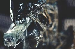 The iconic titular monster in Alien.