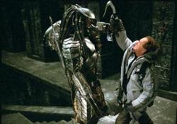 Lance Henriksen in Alien Vs Predator.