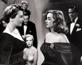 Anne Baxter and Bette Davis in All About Eve.