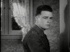 Lew Ayres, discovering that home is not what it used to be.