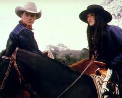 Matt Damon and Penelope Cruz in All the Pretty Horses.
