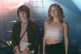 Patrick Fugit and Kate Hudson in Almost Famous.