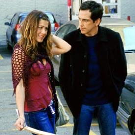 Jennifer Aniston and Ben Stiller in Along Came Polly.