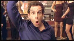 Ben Stiller acting the fool while salsa dancing in Along Came Polly