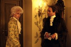 Tom Hulce and F. Murray Abraham in Amadeus.