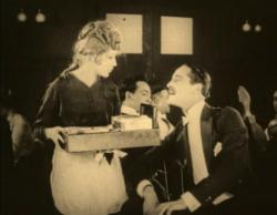 Mary Pickford and Norman Kerry in Amarilly of Clothes-line Alley.