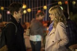 Andrew Garfield and Emma Stone in The Amazing Spider-man 2.
