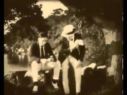 Douglas Fairbanks and Albert Parker in American Aristocracy.