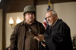 Kevin P. Farley and Dennis Hopper in An American Carol.
