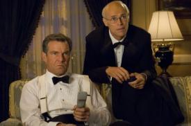 Dennis Quaid and Willem Dafoe in American Dreamz.