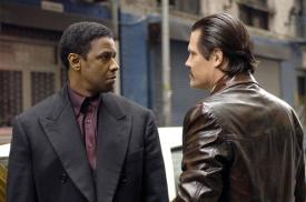 Denzel Washington and Josh Brolin in American Gangster.