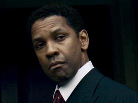 Denzel Washington in American Gangster.