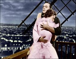 Gene Kelly and Leslie Caron in An American in Paris.