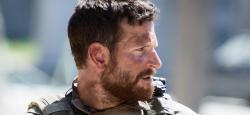 Bradley Cooper as Chris Kyle in American Sniper