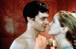 Tom Everett Scott and Julie Delpy