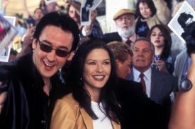 John Cusack and Catherine Zeta-Jones in America's Sweethearts.