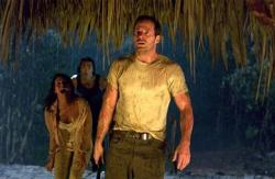 Salli Richardson, Karl Yune and Johnny Messner in Anacondas: The Hunt for the Blood Orchid.