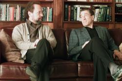 Billy Crystal and Robert De Niro in Analyze That.