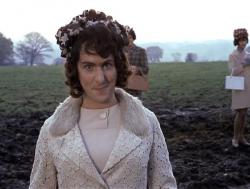 Eric Idle in drag in And Now for Something Completely Different.