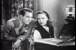 Louis Hayward and June Duprez in And Then There Were None