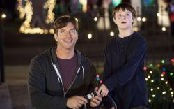 Harry Connick Jr. and Chandler Canterbury in Angels Sing