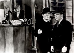 Ann Sheridan, Pat O'Brian and James Cagney in Angels with Dirty Faces