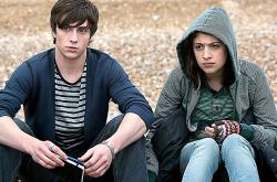Aaron Taylor-Johnson and Georgia Groome in Angus, Thongs and Perfect Snogging.