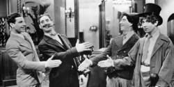 Zeppo, Groucho, Chico and Harpo Marx.